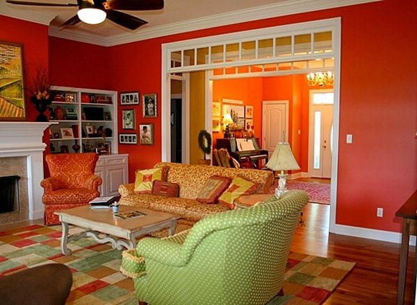 1000 Images About Red Paint Color Schemes On Pinterest