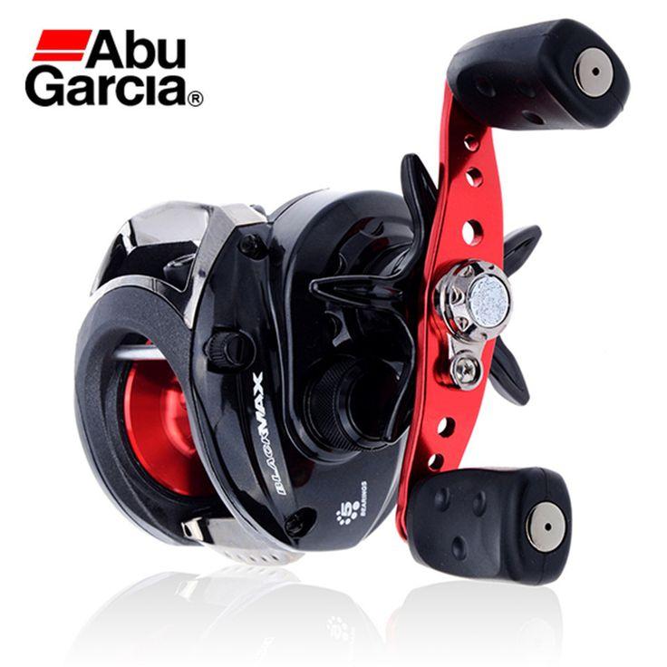 Right Hand Baitcasting Reel Saltwater Carretilha Abu Garcia Bmax2 Black Max Casting Wheel 4+1BB 6.4:1 free shipping worldwide