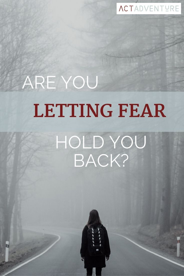Fear | No Fear | Don't Let Fear Hold You Back