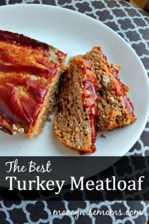 The Best Turkey Meatloaf   a moist, delicious dinner that's perfect for the family (Low Carb Meatloaf Brown Sugar)