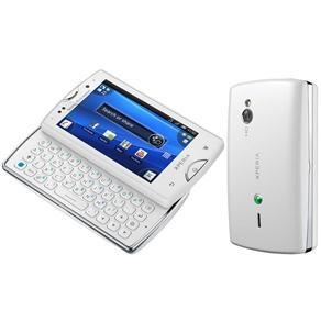 Celular Desbloqueado Claro Sony Ericsson Xperia™ Mini Pro Branco com Câmera 5.0, Rádio FM, MP3, Bluetooth, Wi-Fi, Fone de Ouvido e Cartão 2GB