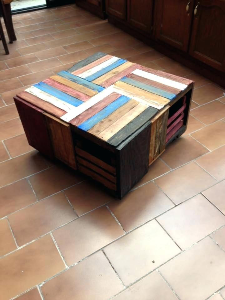 Diy Wood Crate Coffee Table Wooden Crate Coffee Table Wood Crate Coffee Table Crate Coffee Table