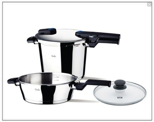 Fissler Vitaquick Quattro Pressure Cooker Set *** Continue to the product at the image link.