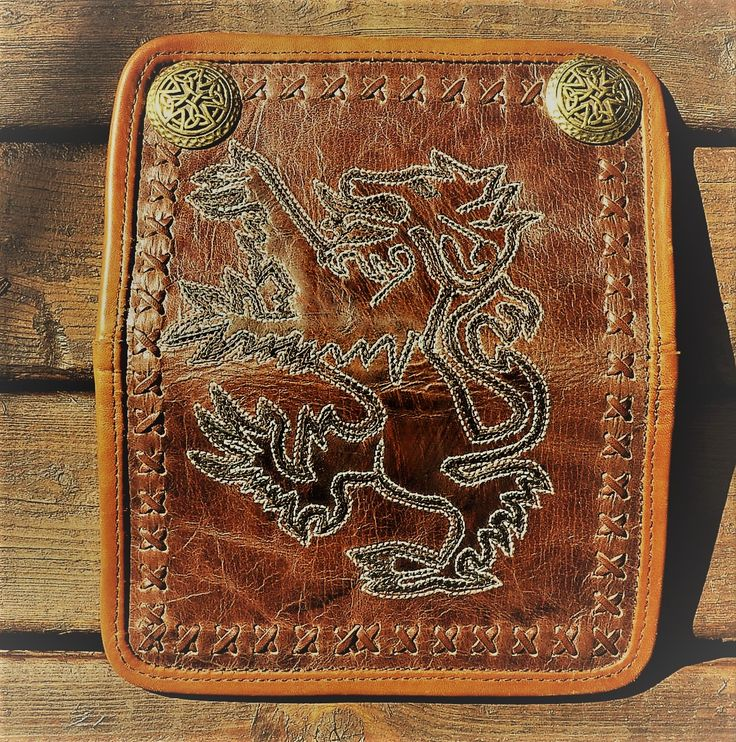 Wallet Rampant Lion (SOLD)