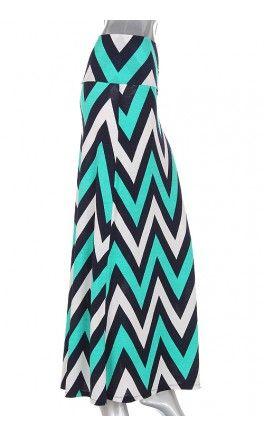 Womens tri-chevron long a-line maxi skirts! - Apostolic Clothing #chevron #modest #skirt