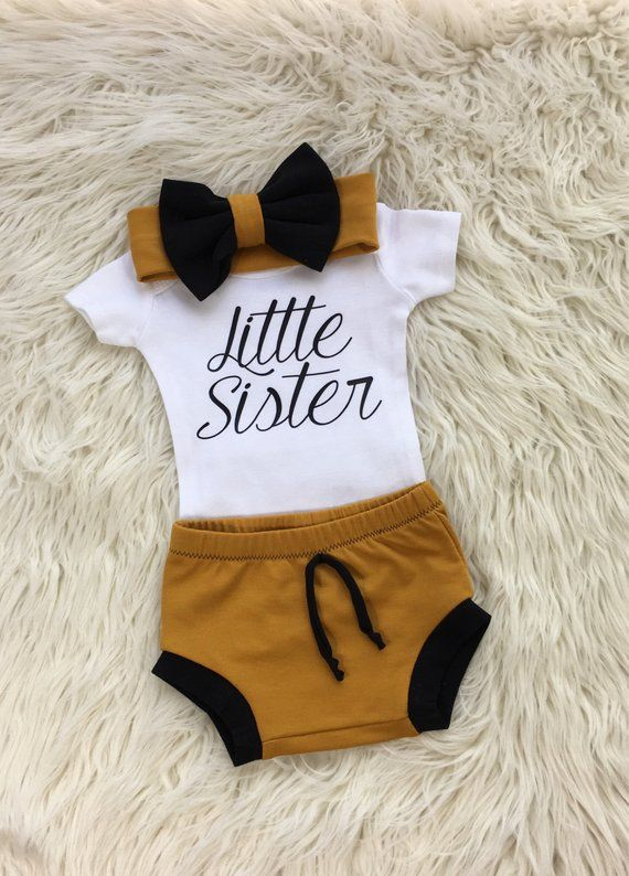 2686f3c86ba9 Newborn girl coming home outfit