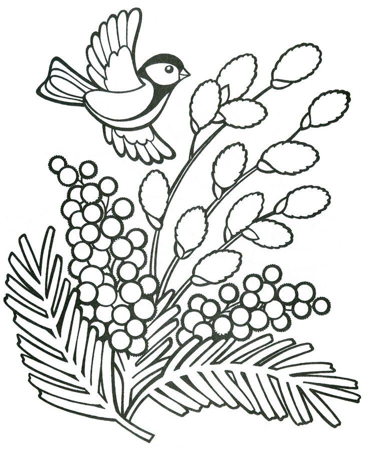 Поздравлением, красивые картинки на вербное воскресенье карандашом