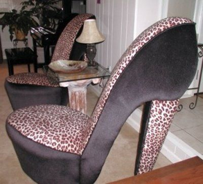 Leopard High Heel Shoe Chair Target Cushions Kitchens 26 Best Images On Pinterest | Leopards, Animal Print Rooms And Bed Room