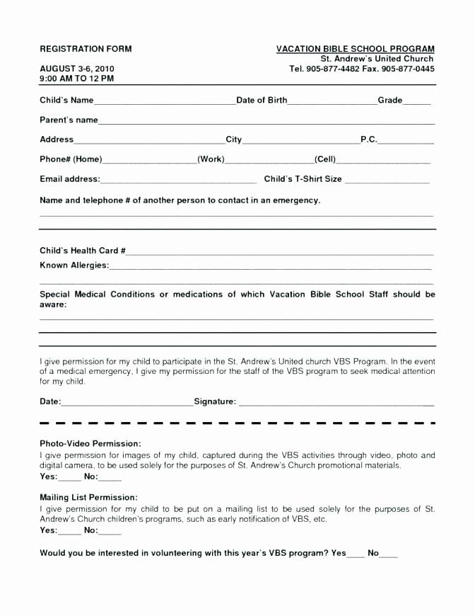 Free Sports Registration Form Template Beautiful Sports Registration Form Template Vungtaufo Registration Form Word Free Word Template