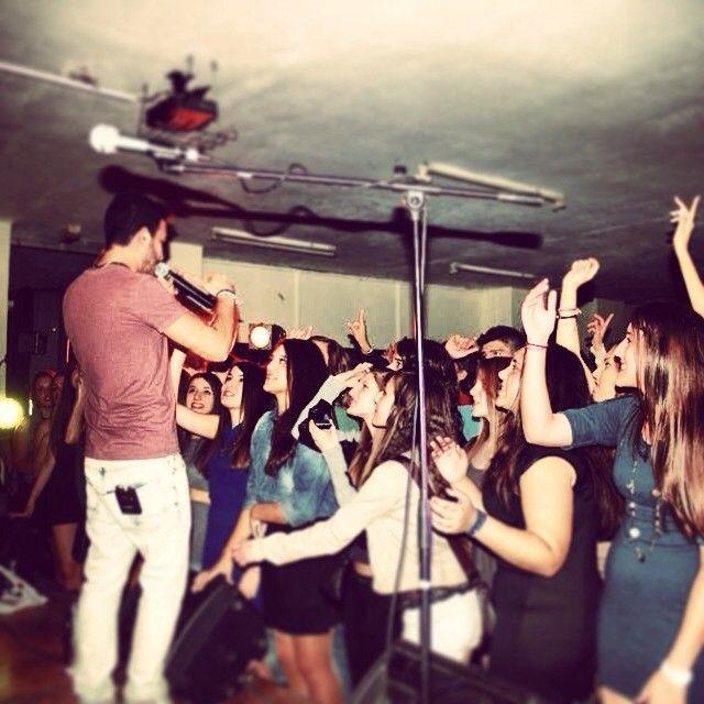 """Last night show!! @ilion #stage #perform  #live"""