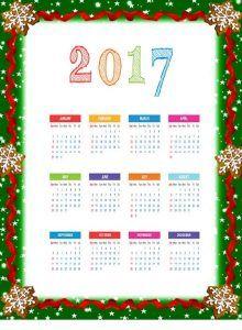 2017-calender-wallpaper | Crafts and Worksheets for Preschool,Toddler and Kindergarten