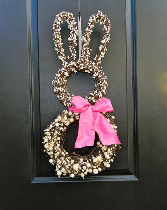 Easter Wreath Bunny