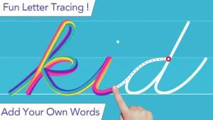 A fabulous app for teaching kids how to write in cursive! Don't miss this one. It's FREE today. :)