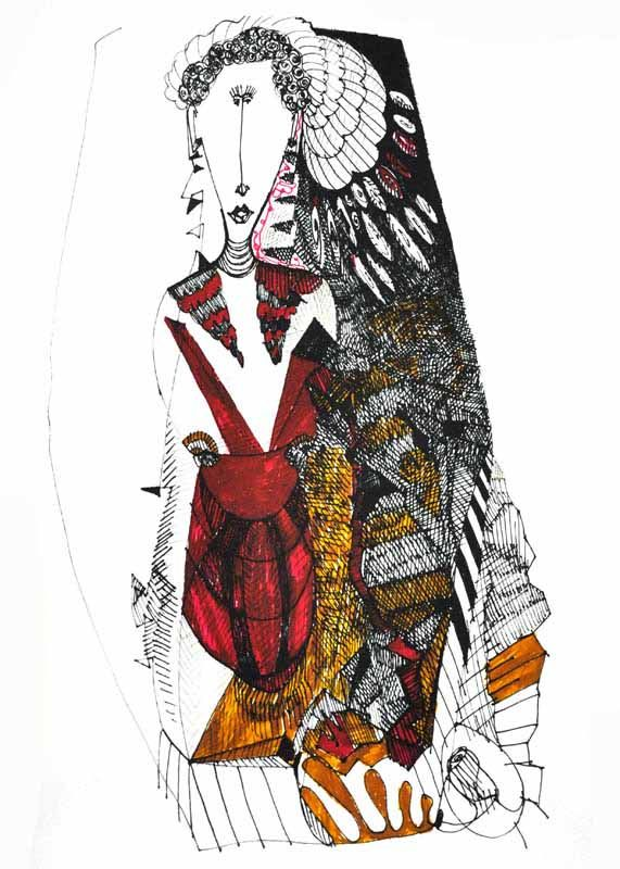 OYUN SERİSİ XIV // GAME SERIES XIV   HAHNEMUHLE KAĞIT ÜZERİNE LİMİTLİ EDİSYON // LIMITED EDITION ON HAHNEMUHLE PAPER 78 X 53 CM, 2015