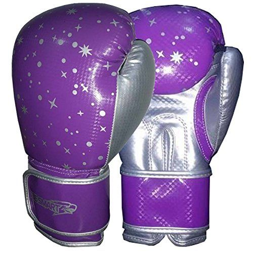 BESMART KIDS Boxing Gloves Junior Mitts 4oz, 6oz Punch Bag Children MMA Youth FREE DELIVERY (Purple/Silver, 4 Oz) BeSmart http://www.amazon.co.uk/dp/B018RCS9GE/ref=cm_sw_r_pi_dp_C80xwb0SX830X
