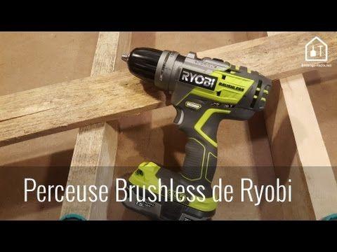 Démonstration de la perceuse sans fil Brushless ryobi - YouTube