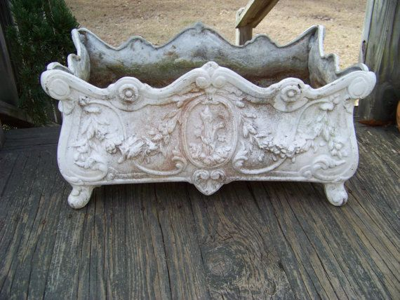Vintage Cast Iron Footed Planter/Window By AlloftheAbove On Etsy, $325.00