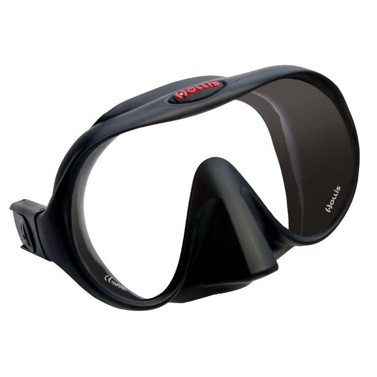 Hollis Tauchmaske M1   Masken Hollis   ABC Tauchmasken  Die Sicht ist der wichtigste Aspekt eines jeden Tauchgang. Die M1-Maske legt die Messlatte für die optische Qualität und verzerrungsfreie Sicht. Diese Maske hat ein extra klares Glas, dass für seine ansprechende Optik und optische Qualitäten geschätzt wird.