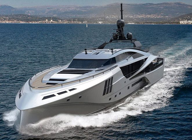 Palmer Johnson – Super World Yacht   Palmer Johnson 48 SuperSport Yacht - front view
