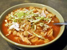 Receta de Pozole Rojo Mexicano   Con esta receta podrán aprender a preparar un rico pozole tradicional de la cultura mexicana.