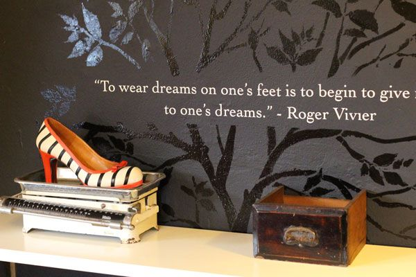 Our famous Roger Vivier quote