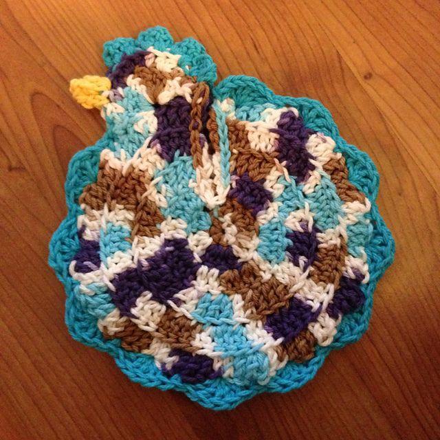 Free Crochet Pattern Rooster Pot Holder : 134 Best images about Crochet Potholders on Pinterest ...