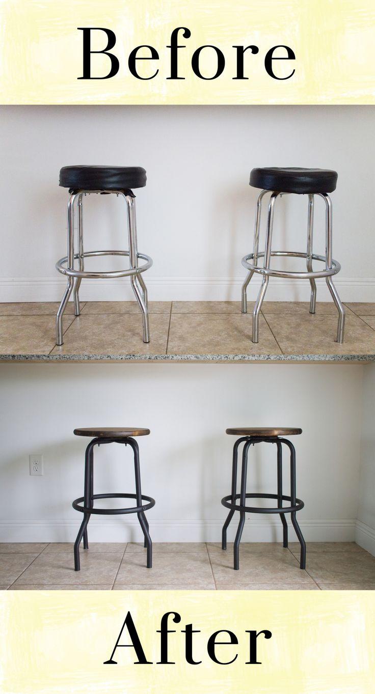Best 25+ Industrial bar stools ideas on Pinterest ...