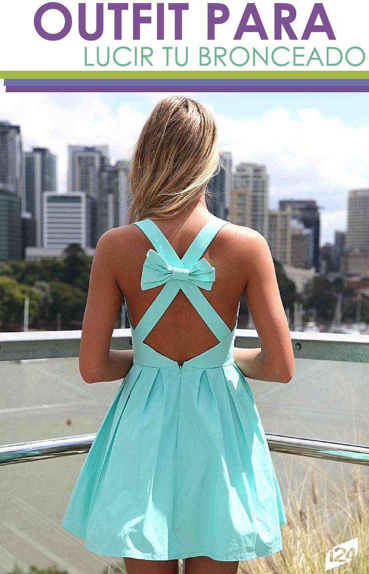 Si has aprovechado estos días de verano para tomar sol, presume tu bronceado con estos hermosos vestidos. #Outfit #Moda