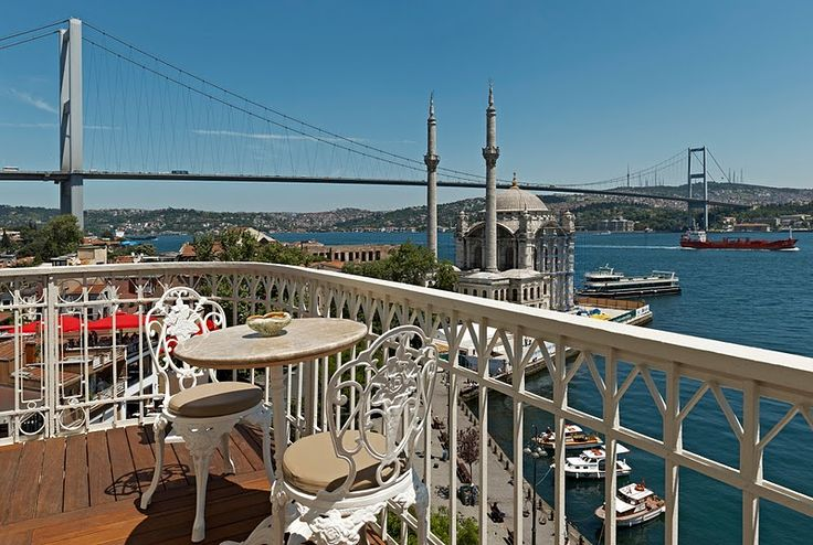 Enjoyed a gorgeous brunch here in 2011. Can't get enough of that view. The House Hotel Bosphorus, Istanbul