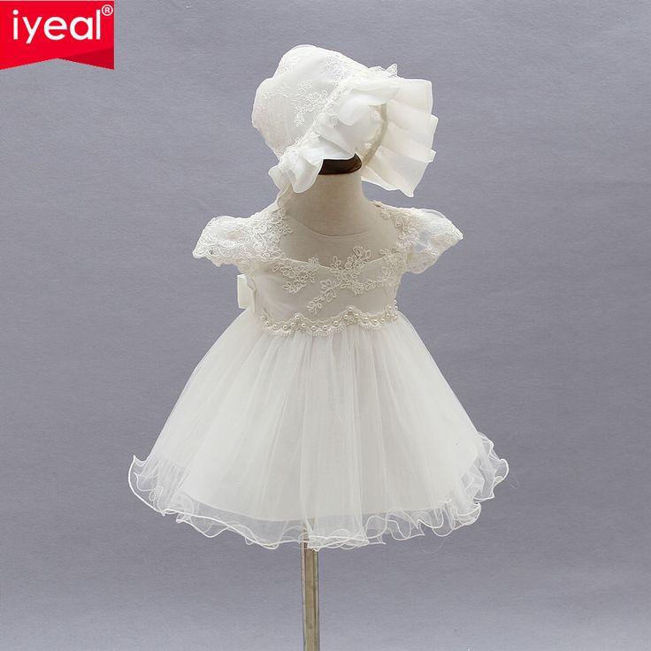 Summer Girl 1 year Birthday Party Dresses Princess Baby Girl Dress Infant Christening Baptism Dress for Newborn Vestido Infantil