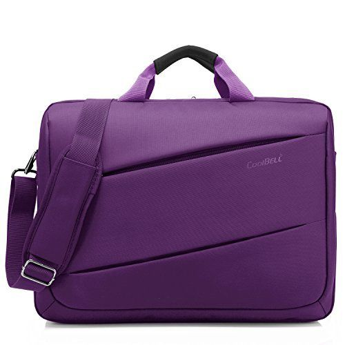 New Trending Briefcases amp; Laptop Bags: Laptop Shoulder Bag, CoolBell 17.3 Inch Laptop Bag Messenger Bag Briefcase Multi-compartment Handbag For Dell Alienware / Macbook / HP / Lenovo / College/Women/Business (Purple). Laptop Shoulder Bag, CoolBell 17.3 Inch Laptop Bag Messenger Bag Briefcase Multi-compartment Handbag For Dell Alienware / Macbook / HP / Lenovo / College/Women/Business (Purple)   Special Offer: $39.99      477 Reviews CoolBell bases on the cut