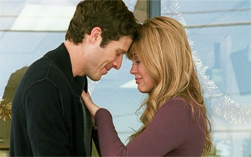 Matt Saracen and Julie Taylor (Zach Gilford and Aimee Teegarden) Friday Night Lights