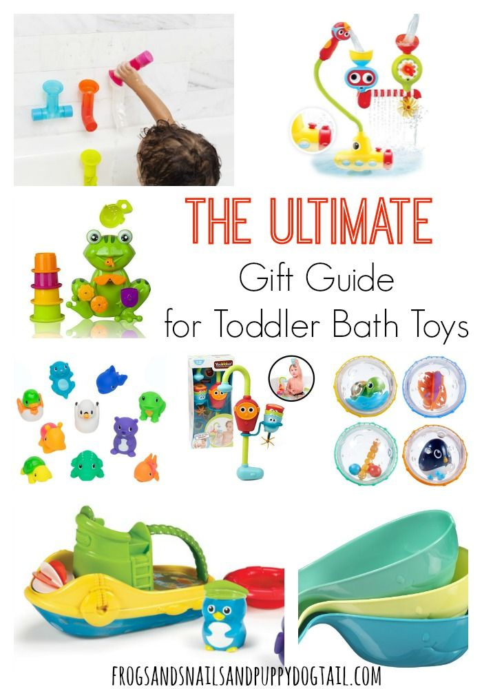 Gift Guide for Toddler Bath Toys
