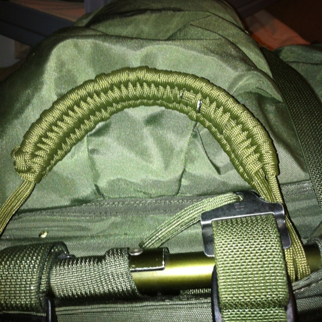 Carrying Handle For My Alice Pack W Hellcat Modifications