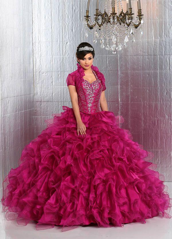 Vestidos de 15 estilo princesa 2015 de Davinci Bridal