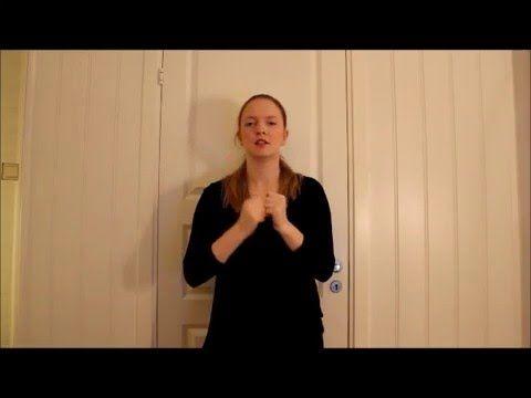 """""""Tenn lys"""" på tegnspråk - YouTube"""