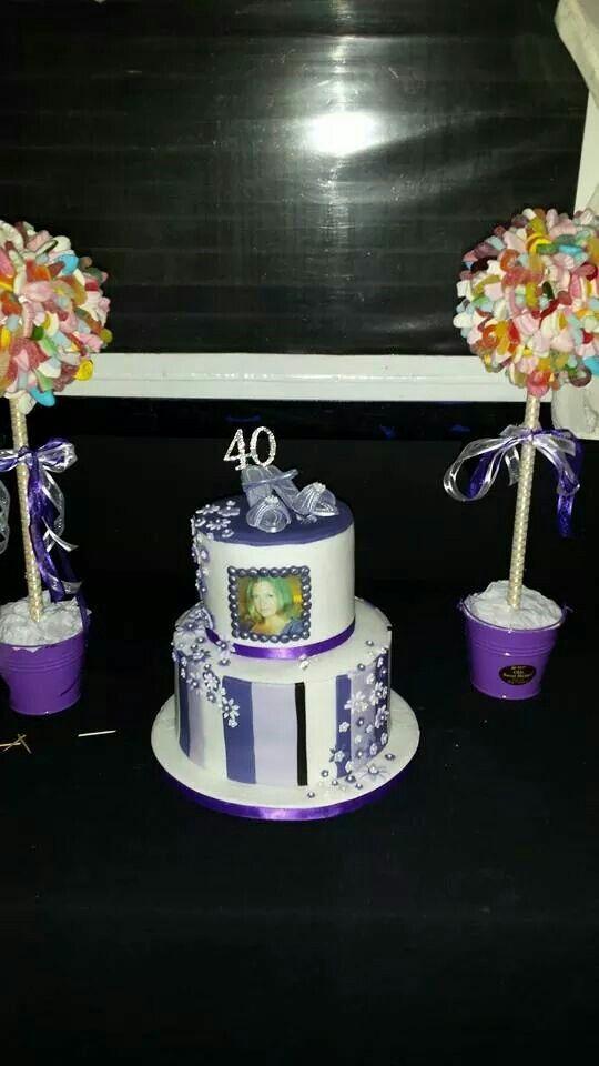 40th stripe cake 91 best My cakes