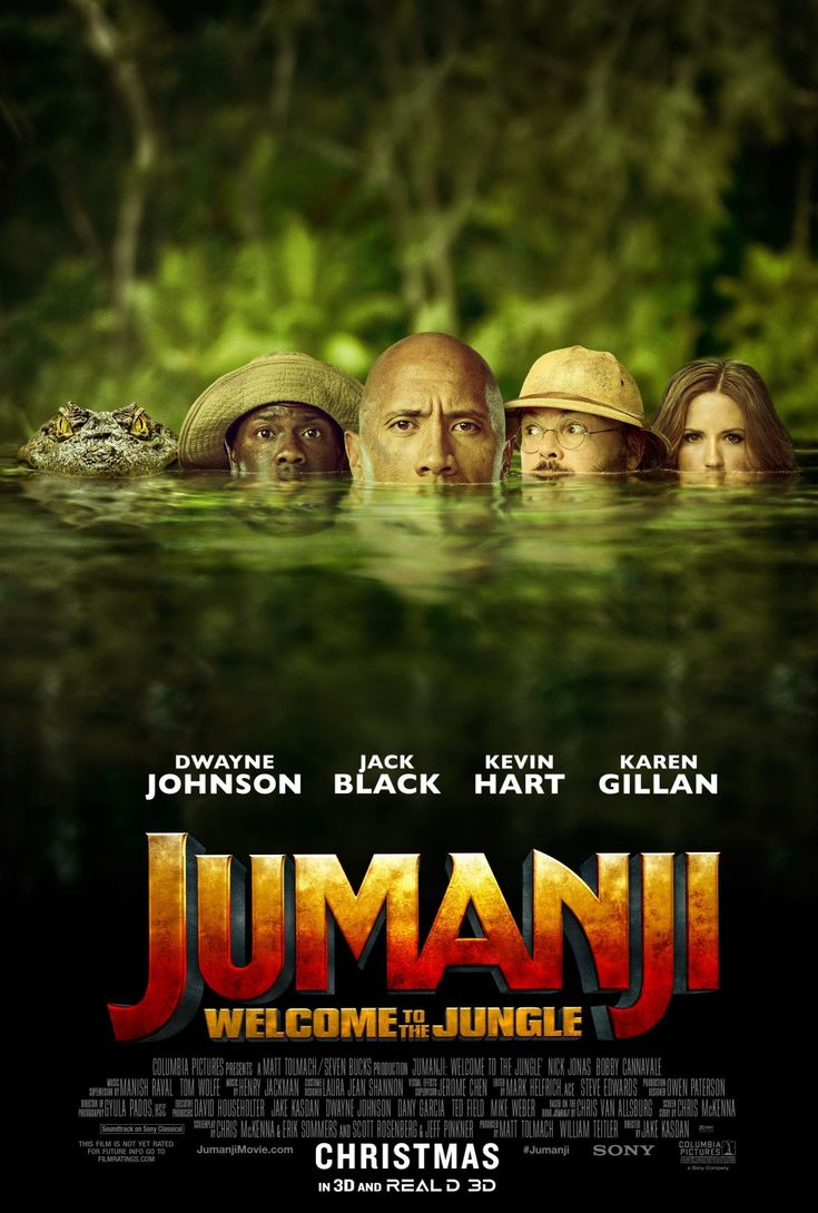 Jumanji: Welcome to the Jungle Movie Poster 3