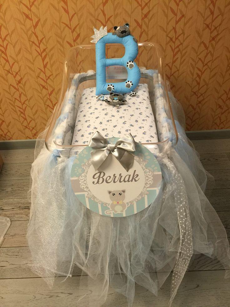 Bebek beşiği süsleme,hastane süsleme, doğum odası süsleme.