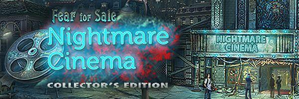 LeeGT-Games: Fear for Sale 3: Nightmare Cinema Collector's Edit...