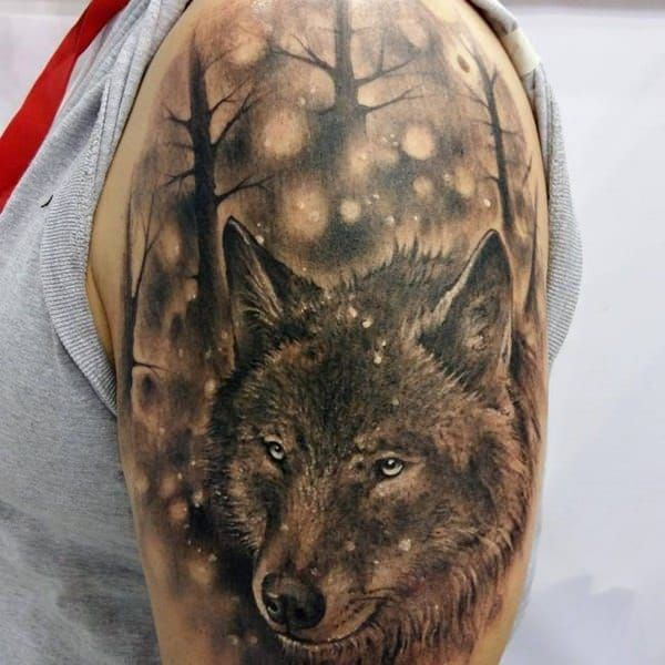 coolTop Tattoo Trends - 101 Meaningful Wolf Tattoo Designs...