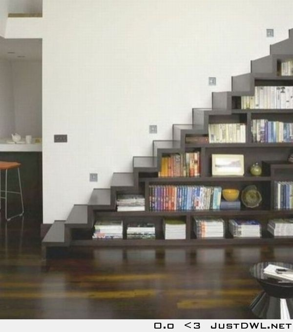 Creative creation: Cool way to store your books & 80 best Book Storage images on Pinterest   Concrete blocks Bricks ...