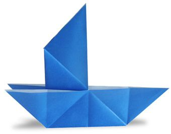 Origami Tricky Boat
