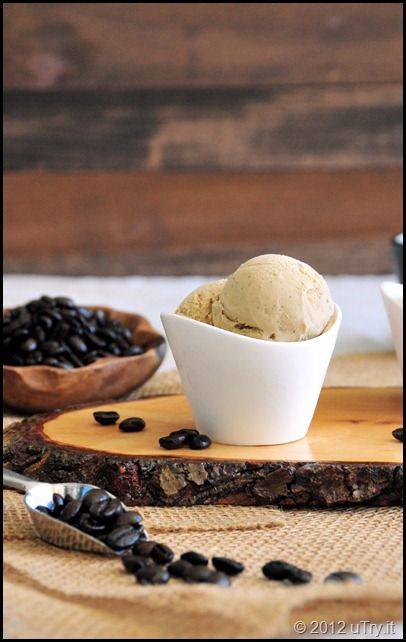 French Roasted Coffee Ice Cream.  We all love coffee ice cream around these parts.