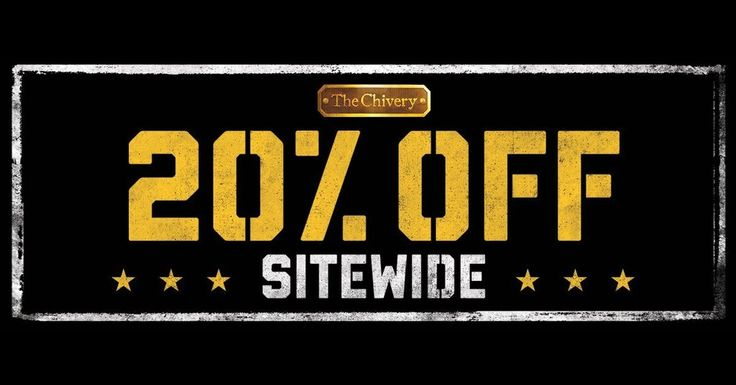 20% off SITEWIDE at The Chivery http://ift.tt/2rlS8iB #funnypic.twitter.com/PRp2vQWyKa http://ibeebz.com
