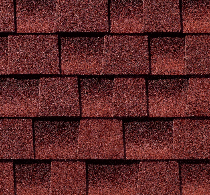 Best Patriot Red Gaf Timberline Roof Shingles Swatch 640 x 480