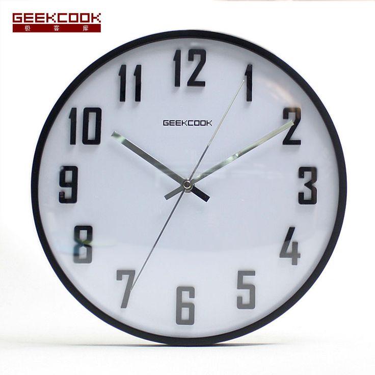 17 beste idee n over moderne klok op pinterest klokken grote ramen en vintage modern - Moderne klok ...