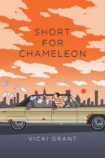 Books and Quilts: Short for Chameleon by Vicki Grant