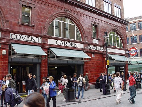 Covent Garden station.