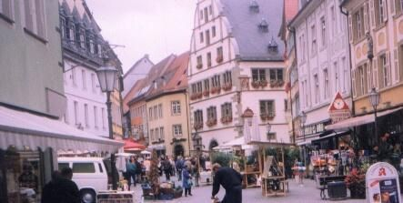 Downtown Kitzingen, Germany